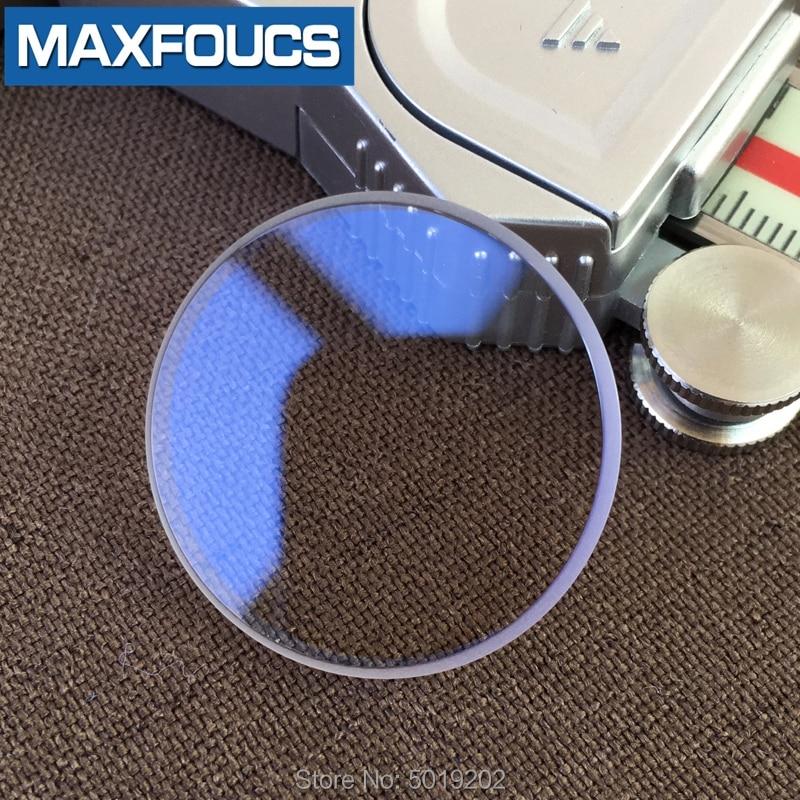 Para seiko skx013 safira relógio de vidro