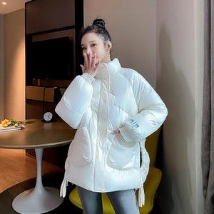 2019 New Winter Autumn Women Long Sleeve Warm Jackets Coats Windproof Casual Cotton Ladies Coats M363