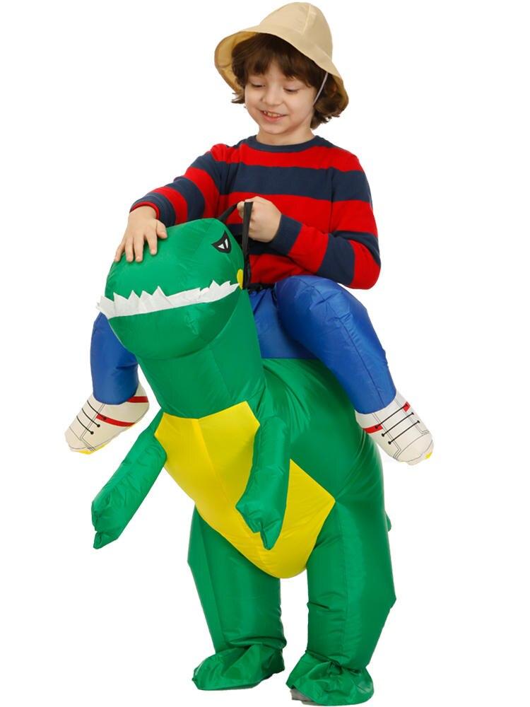 Girls Costume Purim Party Animal Inflatable Dinosaur Kids 80-120cm Child