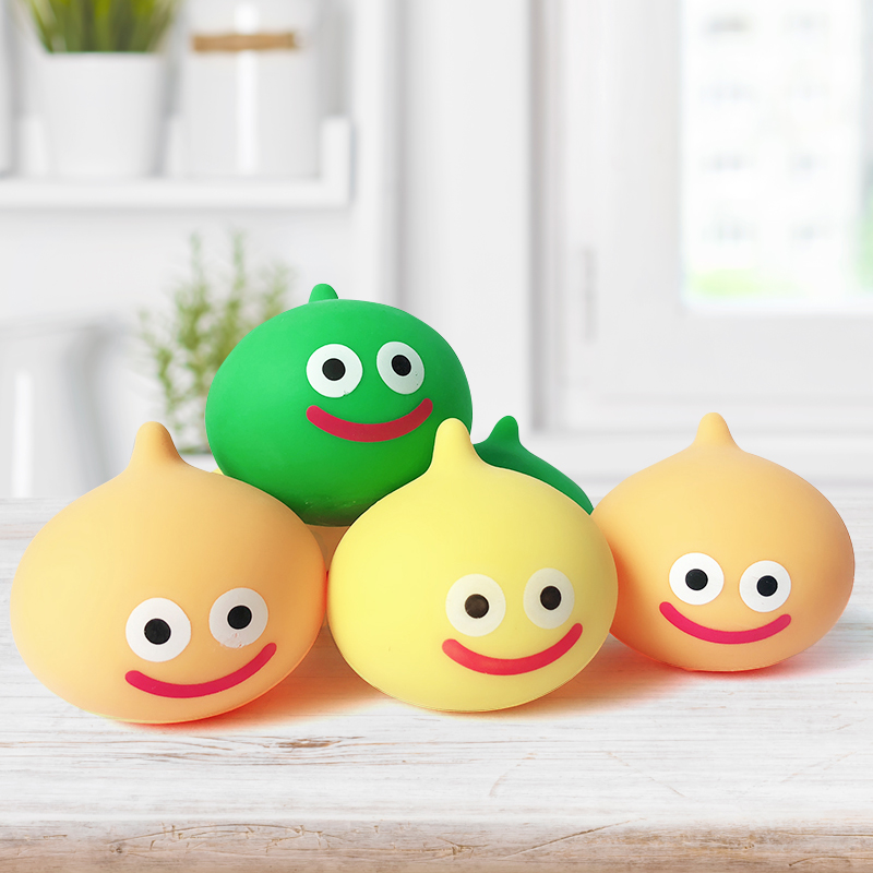 7cm Squishy Squeeze Antistress Stress Ball Slime Gadgets Squeeze Exercise Relief Smiling Face Foam Ball Novetly Kids Toys