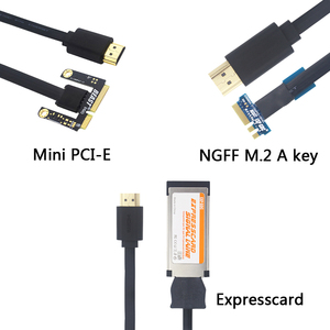 EXP GDC Beast HDMI to NGFF M.2 A key Cable / Mini PCI-E / Expresscard Cable for Video Card External Graphics to Laptop