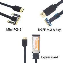 Exp gdc besta para ngff m.2 um cabo chave/mini pci-e/expresscard cabo + doca para placa de vídeo gráficos externos para computador portátil