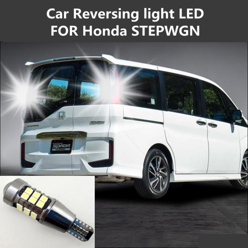 Car Reversing Light LED FOR Honda STEPWGN T15 12W 6000K Retreat Assist Lamp STEPWGN RG RK RP Car Light Refit