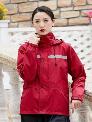 Blue Rain Coat Pants Set Riding Men's Electric Motorcycle Raincoat Waterproof Adult Rain Poncho Outdoor Sports Suit Gift Ideas
