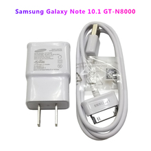 цена на Samsung GT-N8020 Tablet PC Original Data Cable Charger For Galaxy N8010 N5100 N5110 P7510 P7310 P6200 P1000 P3100 Charging Cable