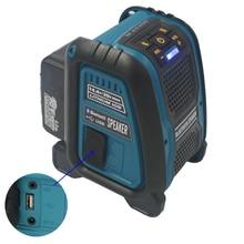 18V 6.0AH li ion batteria CordlessBluetooth Luogo di Lavoro Altoparlante Per Makita dewalt Milwaukee Bosch 14.4v 18V 20V batteria bl1860