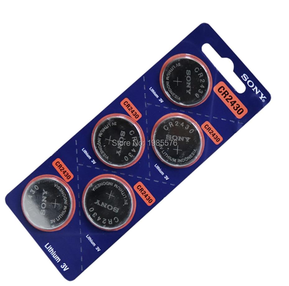 200 peças cr2430 bateria de botão de
