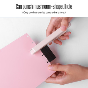 Image 5 - Kw Trio Handheld Diy Paddestoel Enkele Hole Puncher Papier Cutter Met Heerser Voor Office Home School Studenten