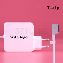 High quality 60W 16.5V 3.65A Magnetic T-tip Magsaf*2 power adapter Charger for apple Macbook pro 13