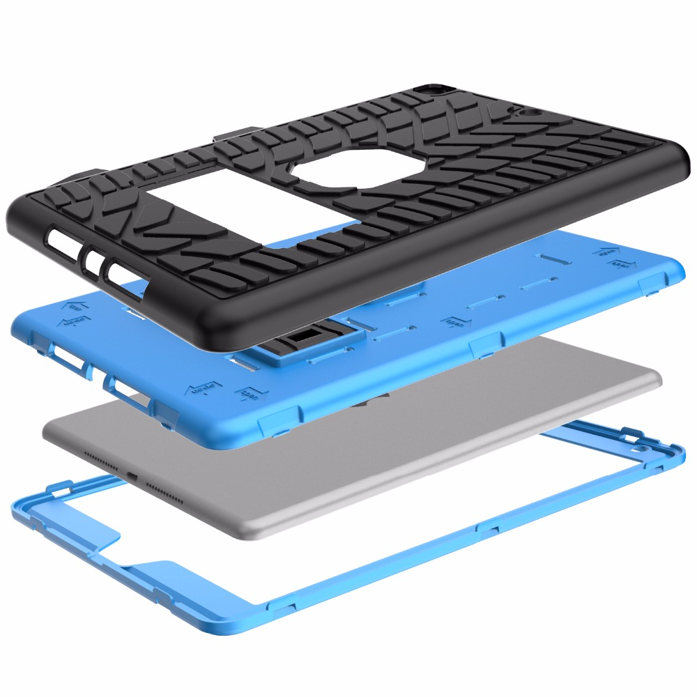 Generation For Case Tire iPad 2020 10.2 Shockproof Pattern 8th Pencil Hard with Holder