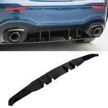 Rear Bumper Splitter Lip Body Kit Spoiler Diffuser Protector Cover For Mercedes Benz W177 AMG Hatchback Sedan A35 A45 2019 2024