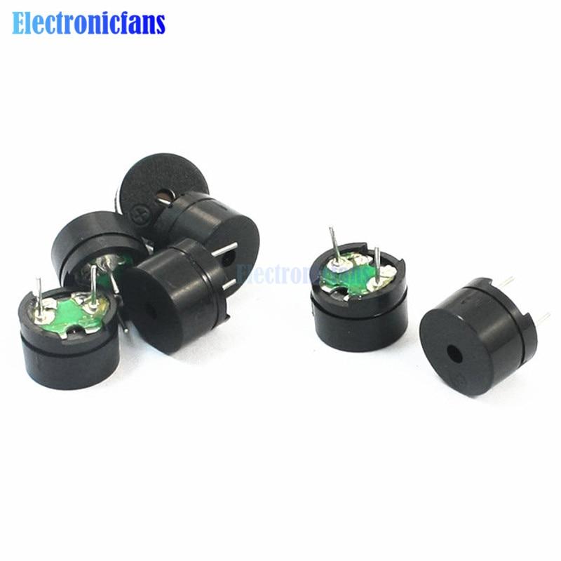 10pcs Universal Passive Buzzer Electromagnetic Impedance 16 Ohms AC / 2KHz 3V 5V 12V Universal