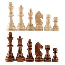 32 средневековые пластиковые шахматные наборы Высота короля 55 и 70 и 77 мм шахматные игры Стандартные шахматные фигуры для международного конкурса