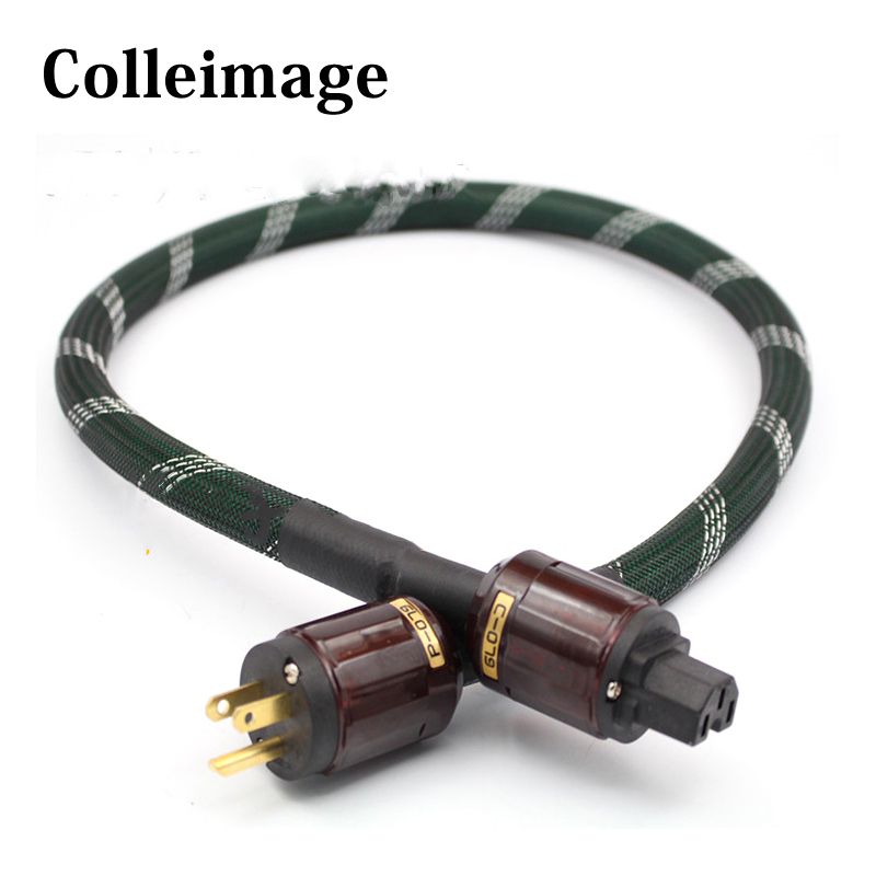 Free shipping <font><b>Mcintosh</b></font> <font><b>2328</b></font> power line HIFI POWER CABLE Power Cord with US Plug AC cable line hifi image