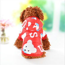 New Pet dog Clothes Autumn Cotton Dogs Coat Jacket for Small Warm clothes Hoodies