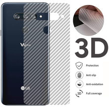 5Pcs/lot 3D Carbon Fiber Screen Protector For LG G7 ThinQ G8 G5 G4 G3 G2 Back Cover Guard Protective Film For V50 V40 V30 V20(China)