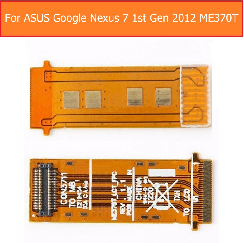 Genuine Main Board Flex Cable For Asus Google Nexus 7 D0654  LCD Display Mainboard Flex For ASUS ME370T Module With Flex Cable