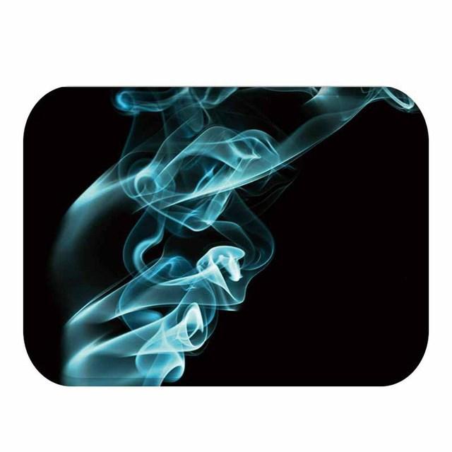 40*60 piękny dymny prostokątny flanelowy miękki dywan mata podłogowa możliwa do umycia domu sypialnia do dekoracji hotelu mata podłogowa mata łazienkowa.