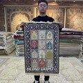 Yilong 2 'x 3' турецкий Шелковый ковер ручной работы изысканный четырехсезонный ковер (HF115B)