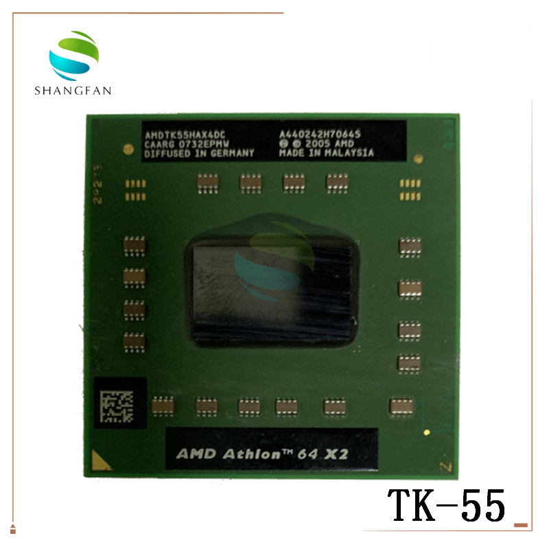 AMD Athlon 64 X2 TK-55 TK 55 TK55 1.8 GHz Dual-Core Dual-Thread CPU Processor AMDTK55HAX4CT Socket S1