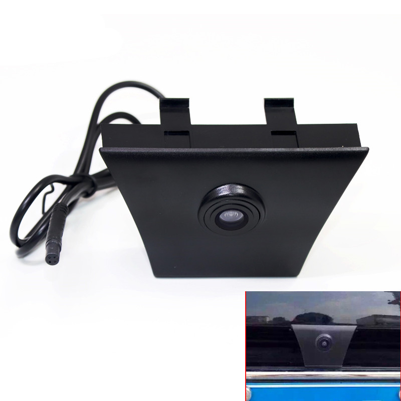 Car Front View Camera For Ford Edge 2015 2016 Kuga 2013 Parking Camera Firm Installation Under Car Logo Positive Image