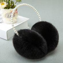 Earmuffs Headband Ear-Warmer Styling-Headwear Plush Fluffy Girls Winter Women Thicken