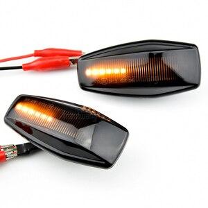 Image 4 - LED แบบไดนามิกด้านข้าง Marker Light Blinker โคมไฟสำหรับ Hyundai Elantra XD I10 Getz Sonata XG Tucson Terracan