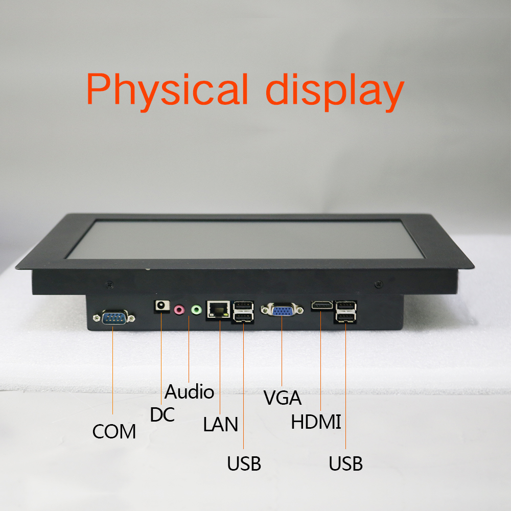 """12"""" 15"""" 10 inch industries tablet pc Panel PC Desktop Computer with Resistive Touch Intel J1900 windows 10 pro All In One PC"""