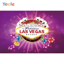 Welcome To Las Vegas Fabulous Party Background Casino Purple Backdrop for Photography for Photo Studio Photophone Custom Vinyl las vegas casino city skyline night backdrop vinyl cloth high quality computer printed party photo studio background