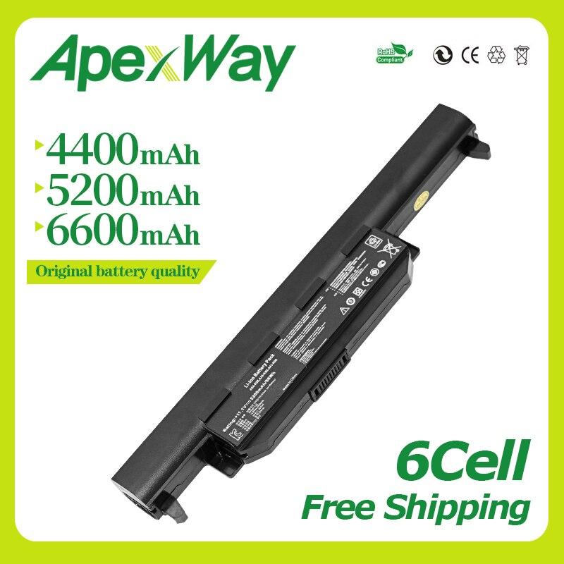 Apexway X55A Battery For Asus A32-K55 K55A K55DR K55N K55V K55VM K55VS K45D K45DE K45DR K45N K45V K45VD K45VG K45VM K45VS