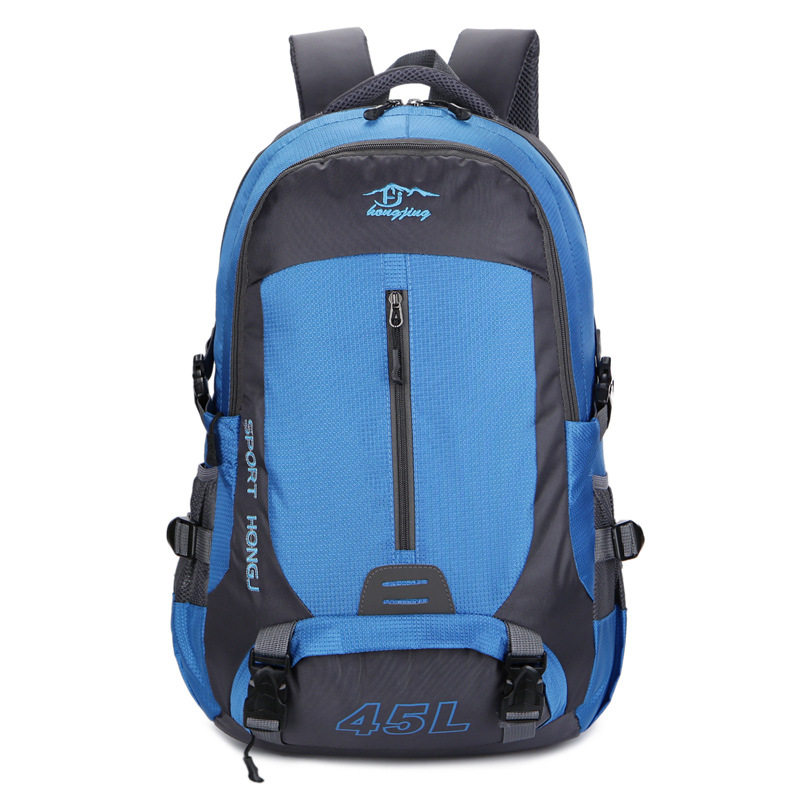 New Style Outdoor Mountaineering Bag 45l Lightweight Travel Backpack Nylon Anti-Spillage Sports Backpack
