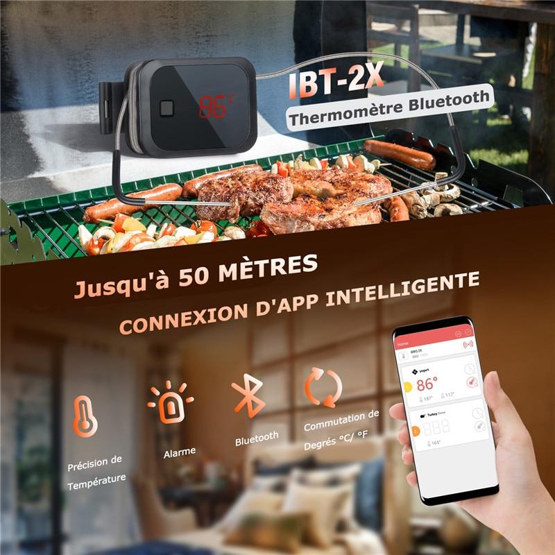 """""""Inkbird"""" maisto ruošimas """"Bluetooth"""" belaidis BBQ - Matavimo prietaisai - Nuotrauka 5"""