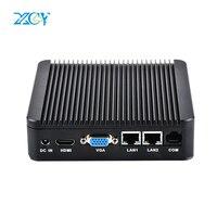 Xcy intel celeron J1900 2LAN 2COM mini pc mit 2,0 GHz VGA HDMI 2 * USB2.0 2 * USB3.0 unterstützung Windows 10 win 8 Win 7 linux mini deskt