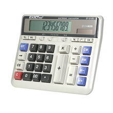 Large Computer Electronic Calculator Counter Solar & Battery Power 12Digit Display Multi-functional Big Button for Office School