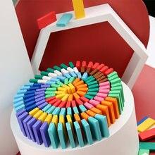120 шт diy смешанные цвета дети семья интерактивные игры деревянные