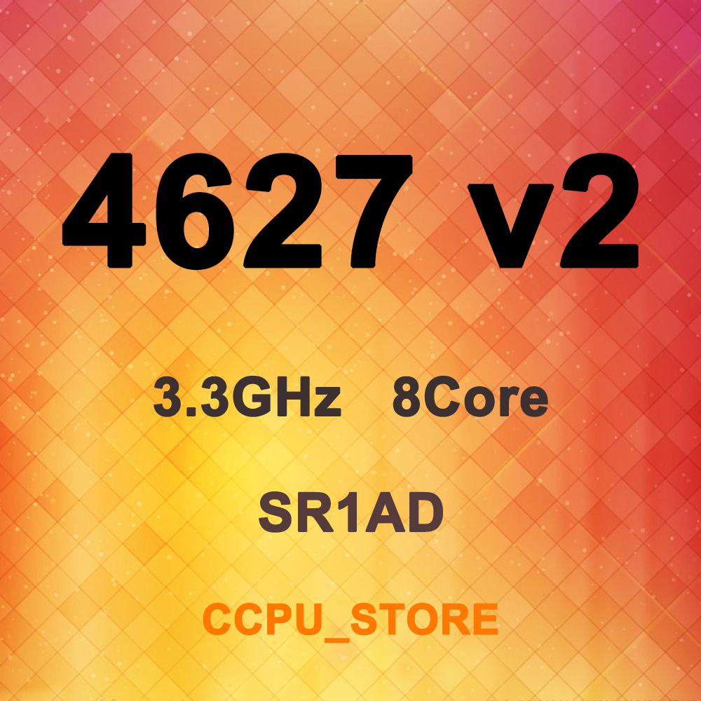 Процессор Intel Xeon E5-4627 v2 SR1AD 3,3 ГГц 8 ядер 16 потоков 16 Мб 130 Вт LGA2011 X79