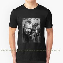 Leon The Professional Fashion Vintage Tshirt T Shirts Psychedelic Psy Freaky Freak Freakshow Unique Strange Leon Leon The(China)