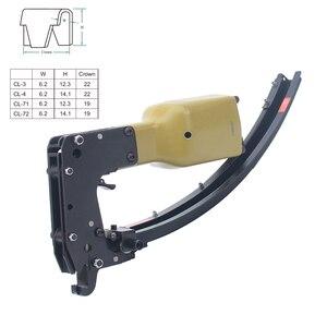Meite M66 профессиональный специальный пневматический пистолет зажим воздушный инструмент для фиксации пружины матраса/дивана зажим Гвоздика
