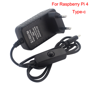 Image 2 - 2019 Nieuwste Originele Raspberry Pi 4 Model B Starter Kit Acryl Case Fan Heatsink Hdmi + Voeding Lader Voor RPI4