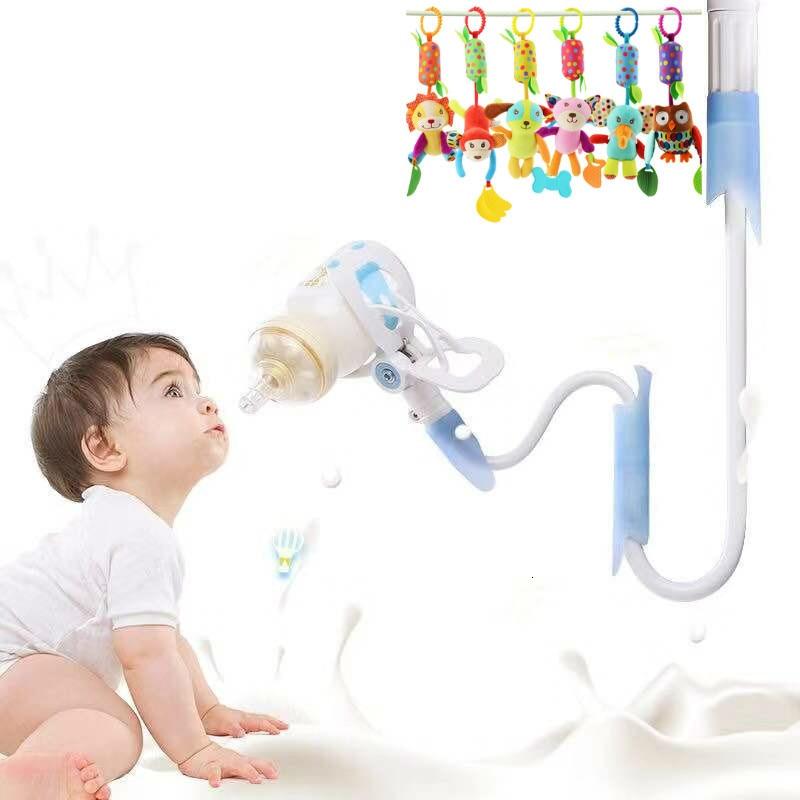4 Sizes Baby Bottle Holder Solid Baby Bottle Holder For Hands Free Bottle Feeding Baby Drink Water Nursing Holder Support Clip