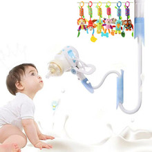 4 Sizes Baby Bottle Holder Solid For Hands Free Feeding Drink Water Nursing Support Clip