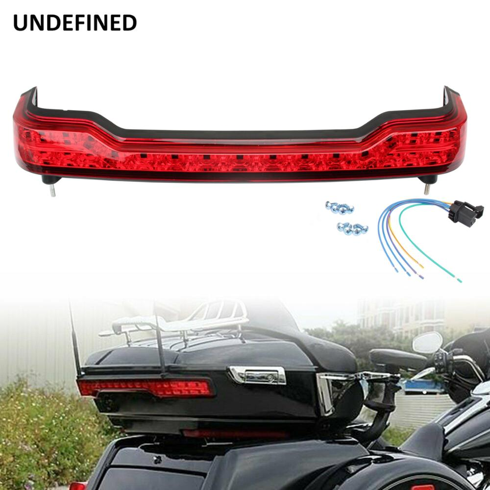 Motorcycle Parts LED Turn Brake Tail Lights Wrap Tour Pack Running Light For Harley Electra Glide Ultra Classic Road Glide FLHTK