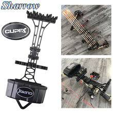 Portable 5-Arrow Quiver Compound Bow Hunting Arrow Tube No Arrows Hunting Archery Shooting Arrows Holder Accessories Slingshot недорого