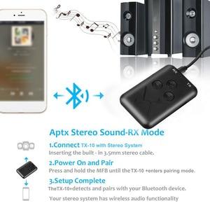 Image 2 - RX/TX 2 в 1 стерео Bluetooth 4,2 передатчик приемник 3,5 мм аудио адаптер совершенно новый и высококачественный