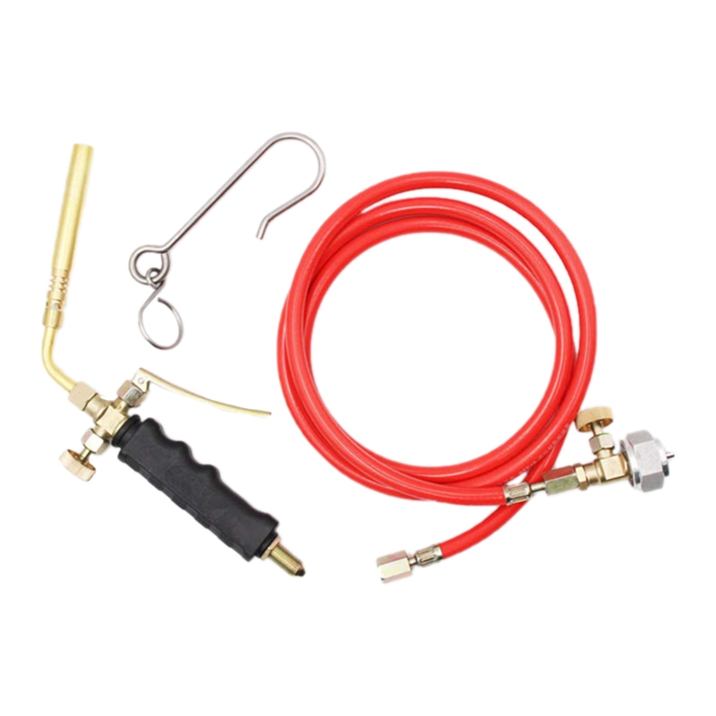 Brazing Welding Hose Torch MAPP Propane Soldering Torch with 1 6M Hose