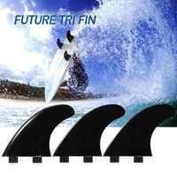 3 pièces/2 pièces FCS ailerons de planche de Surf propulseurs d'ailerons de Tir en fibre de verre Nylon ailerons de Surf GL/GX/M5/G5