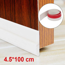 Under Door Seal Stoppers Window Seal Strip Silicone Self-Adhesive Weather Stripping Noise Weatherstrip Draft Stopper Sweep Strip