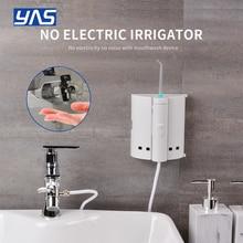 YAS ก๊อกน้ำทันตกรรม Flosser Oral Irrigator Jet Interdental แปรงฟันแปรงสีฟันทำความสะอาดสปาทำความสะอาดฟัน Whitening XS1 B