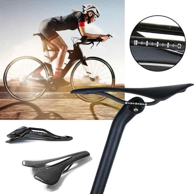 Road Racing MTB Bike Carbon saddles Bicycle Seats seat black 265*143mm