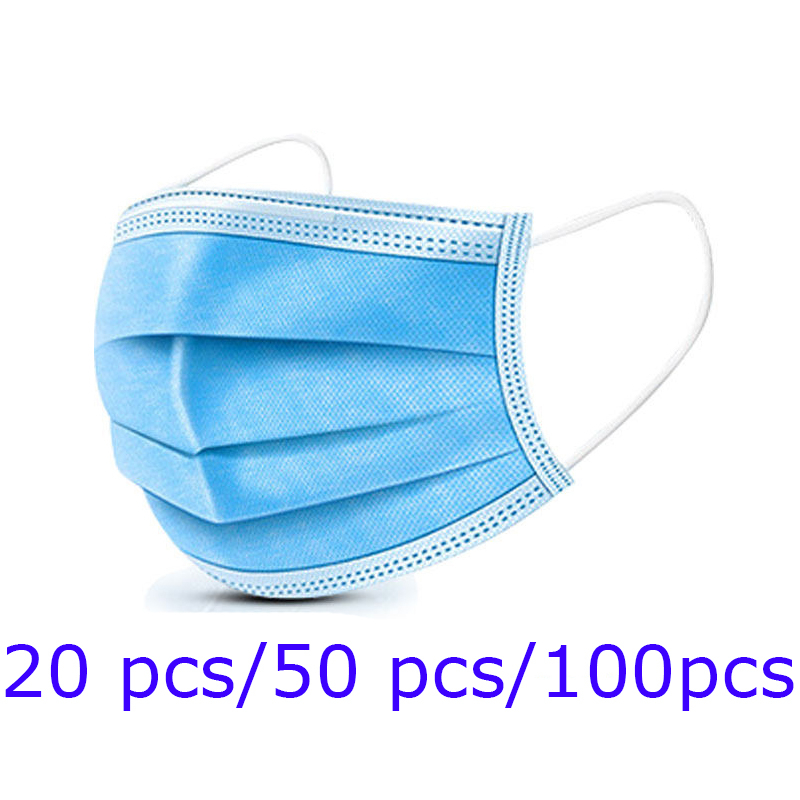 Anti-Pollution 3 Laye 95%Filtration Disposable Mask Safety Masks For Germ Protection